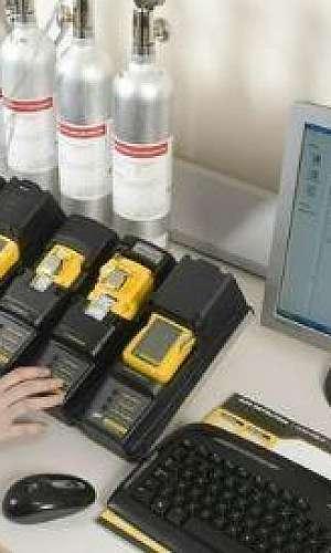 Detectores de gases industriais