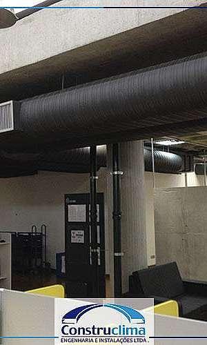Dutos de ar condicionado preço