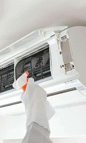 Higienização de ar condicionado