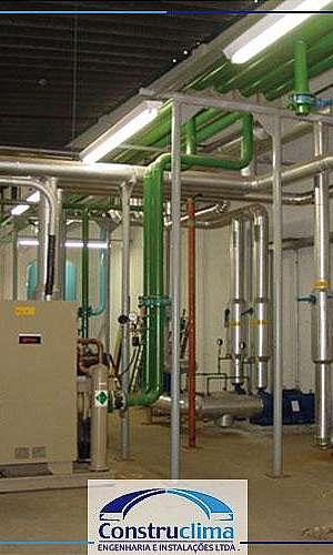 Instalação de ar condicionado central