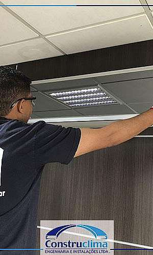 Instalação e manutenção de ar condicionado vrf