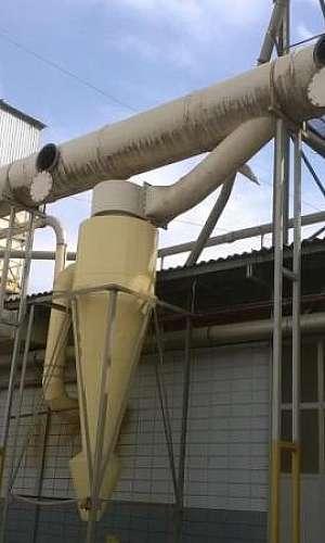 Lavador de gases para cozinha industrial