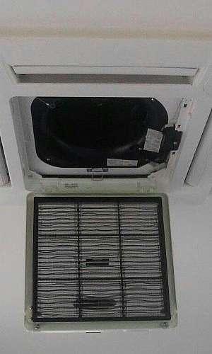Manutenção ar condicionado k7