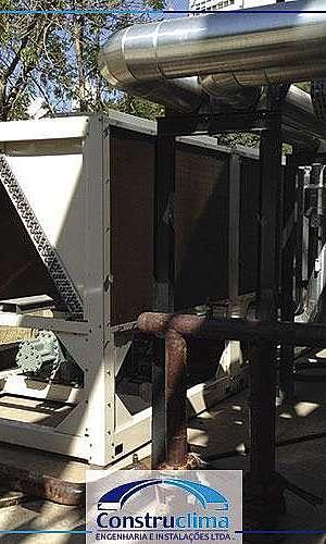 Manutenção de ar condicionado central
