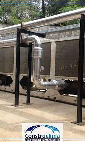Manutenção de ar condicionado chiller