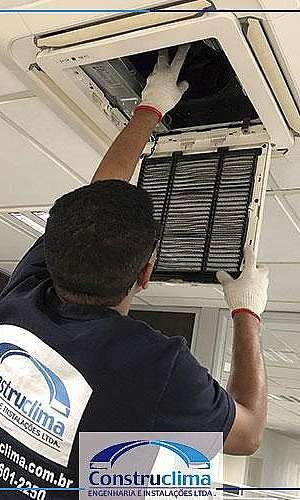 Manutenção do sistema de climatização