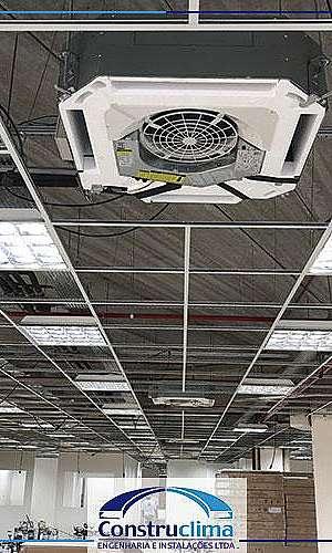 Manutenção preventiva de ar condicionado vrf