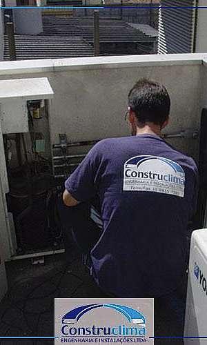 Manutenção preventiva e corretiva de ar condicionado