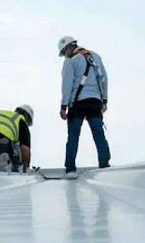 Reforma de calhas e telhados