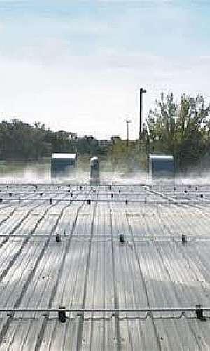 Resfriamento de telhado por aspersão