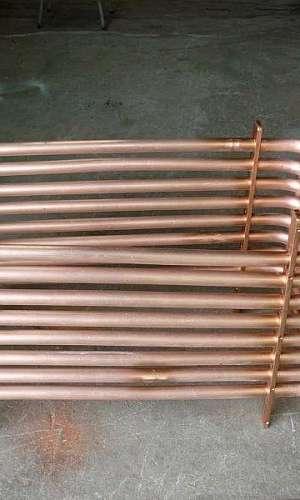 Serpentina de cobre ar condicionado