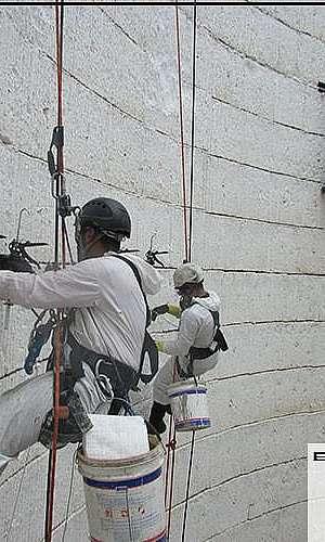Serviço de alpinismo industrial em SP