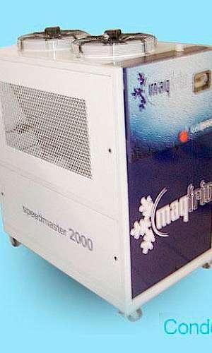 Sistema de ar condicionado central Chiller