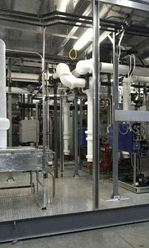 Sistema de ar condicionado industrial